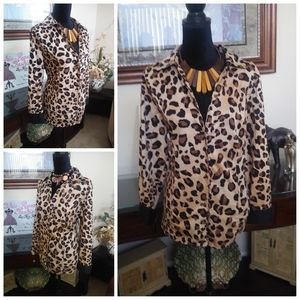 💥CLEARANCE💥  Leopard Print Shirt